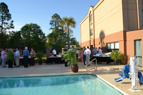 Hampton Inn North Mobile / Saraland: Pool Area - Special Event