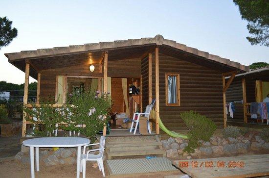 Camping La Siesta: Cabin sleeps 5