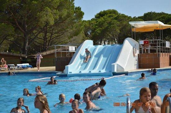 Camping La Siesta: The pool