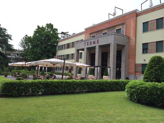 Grand Hotel & SPA : l'ingresso delle terme