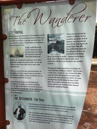 Jekyll Island Club Hotel: Story of Wanderer (slave ship)