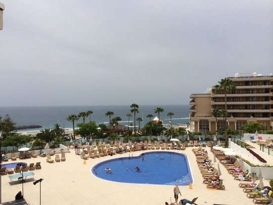HOVIMA Costa Adeje: View from our balcony