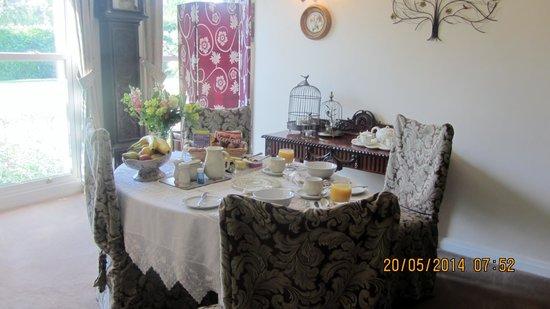 Iden, UK: Dining/Breakfast room