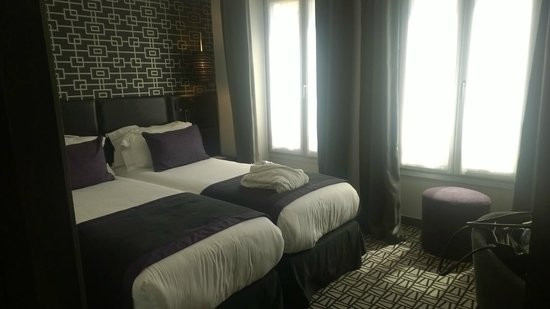 Le Grey Hotel : Beds in the room