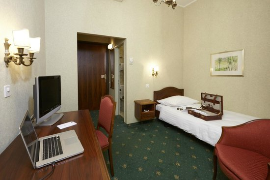 Hotel International au Lac: Single room