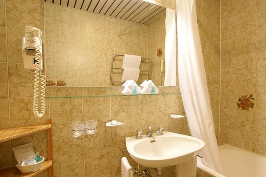Hotel International au Lac: Bathroom
