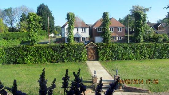 Iden, UK: front garden
