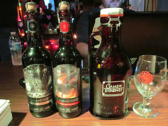Game of Thrones Beer on Tap! - Picture of Battle and Brew