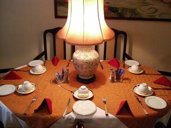 Judy Guest House: dining room