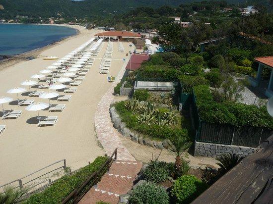 Hotel Del Golfo : spiaggia dell'hotel