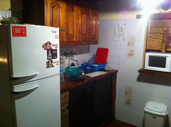 Rusty-k Hostal : La cocina