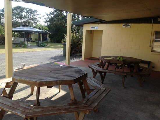 Baylys Beach Holiday Park : Common Dining Area