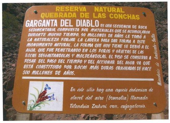Quebrada del Rio de las Conchas: descripción y explicación de esta maravilla de la naturaleza