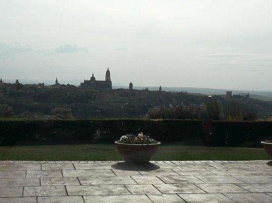 Parador de Segovia: Vistas desde el comedor