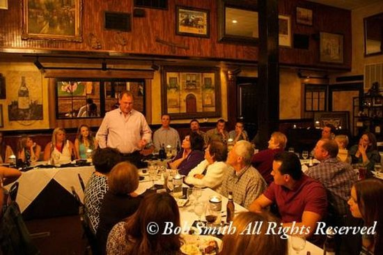 The Porterhouse: The Grooms' dad giving his speech