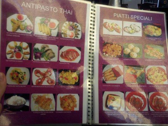 Senba: menu