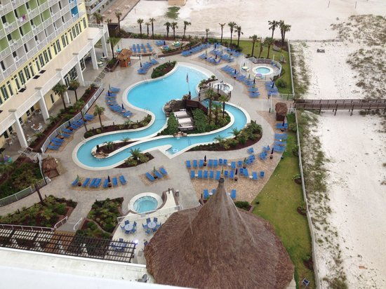Hilton Pensacola Beach Lazy River From Hotel Next Door That Guests Can Use