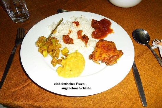 Royal Tourist Lodge: mein Abendessen