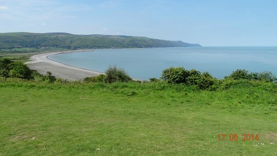 Marston Lodge Hotel: View of the North Somerset Coastline