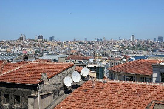 Yazar Hotel: Blick auf den Bosporus