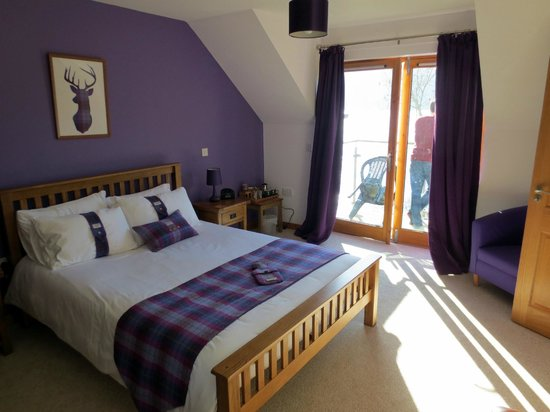 Balachladaich Loch Ness B&B : An upstairs bedroom