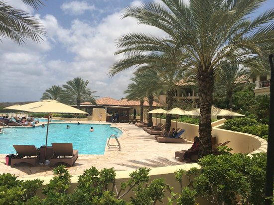 Santa Barbara Beach & Golf Resort, Curacao: Pool view
