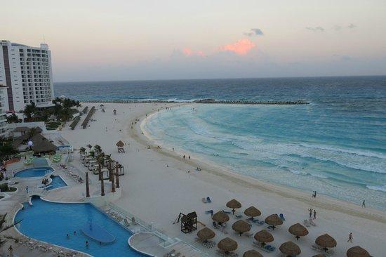 Krystal Cancun : Vista desde la habitación