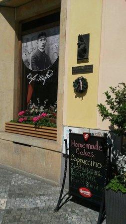 Cafe Franz Kafka: The most expensive in Prague.