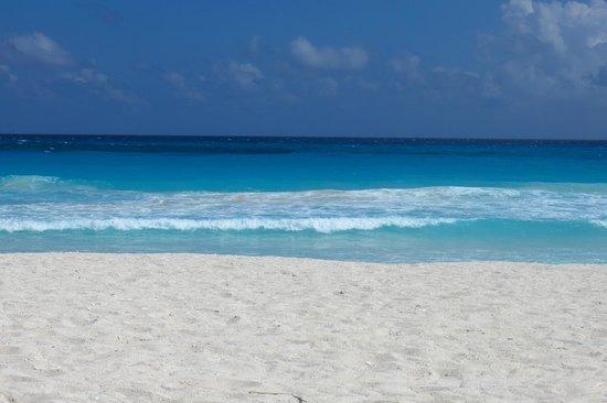 Krystal Cancun : Playa del hotel