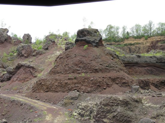 Volcano Park of Lemptegy: Inside the volcanic crater