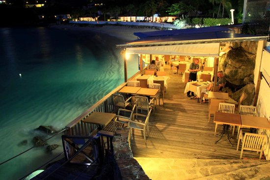 Grand Case Beach Club: Sunset Café