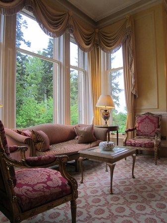 Inverlochy Castle Hotel: Lounge