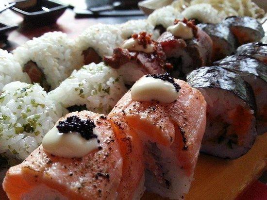 Kiyoshi - Sushi & Grill: Sushi voorbeeld van Kiyoshi