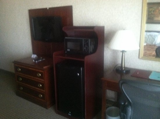 Plaza Hotel: Microwave/Fridge