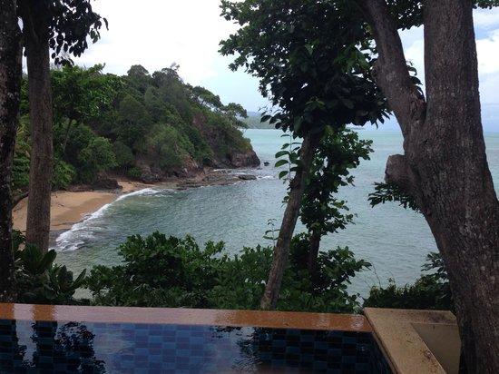Crown Lanta Resort & Spa : View from the pool villa!!