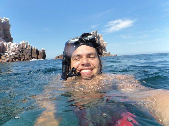 Isla Espiritu Santo: Buceo libre en La Lobera