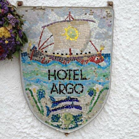 Hotel Argo: Вывеска