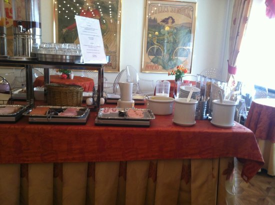 Hotel Du Nord Copenhagen : La colazione - il buffet