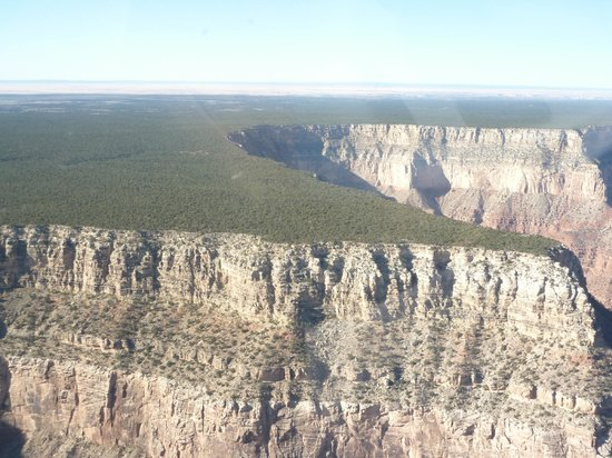 Papillon Grand Canyon Helicopters: Epic rim views from the helicopter!