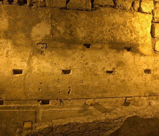 Muro de las Lamentaciones: Western Wall, Below Ground
