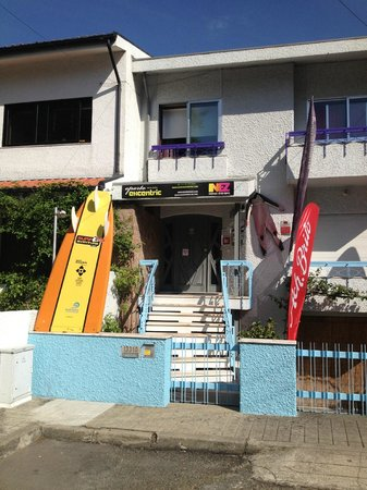 Surf' in Monkeys Surfcamp: Entrance