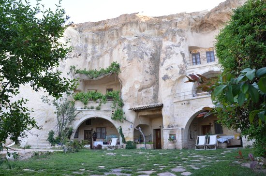 Elkep Evi Cave Hotel: upper rooms