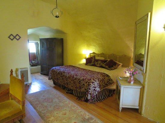 Faside Estate B&B: Lovely large bed