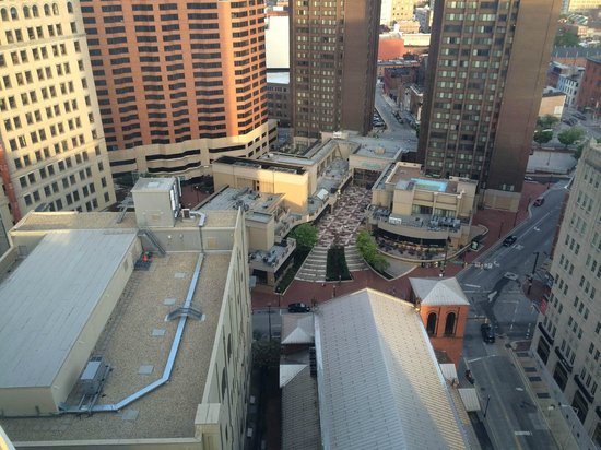 Embassy Suites by Hilton Baltimore - Inner Harbor : 9am from 27th floor