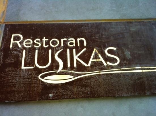 Lusikas : restaurant