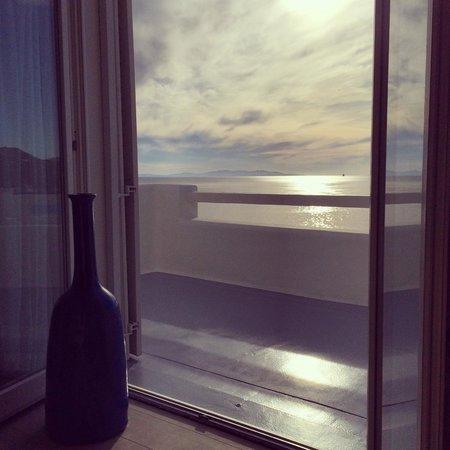 Cavo Tagoo: balcony view