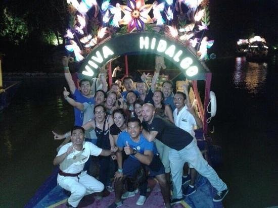 Xoximilco Cancún: a magic place