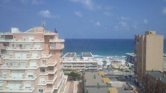 Las Gaviotas: vistas desde el hotel