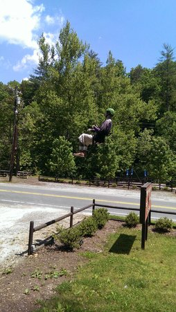 Canopy Ridge Farm: zip lining