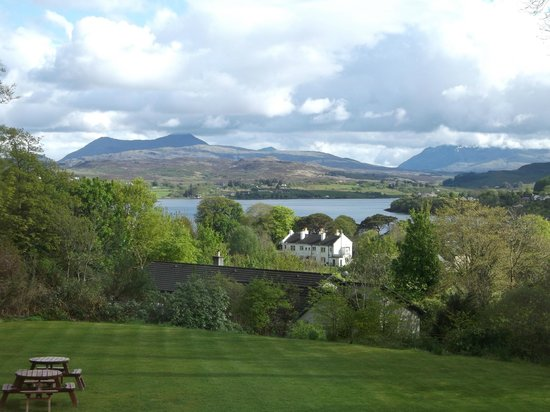 Marmalade: View of Cuillins from bedroom